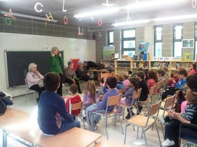 Sessions de l'Hora del Conte a les biblioteques de les escoles d'Olèrdola per la setmana que ve