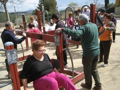 Sessions guiades pels espais lúdics i de salut d'Olèrdola