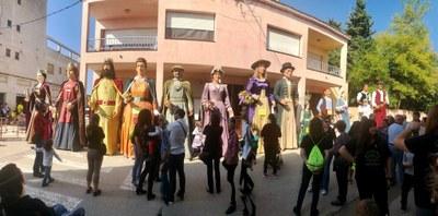 Sis colles participaran aquest diumenge en la 19a Trobada de Gegants a Sant Pere Molanta
