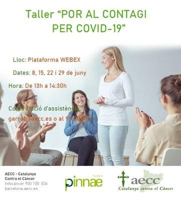 Suport de l'Ajuntament a la difusió d'activitats gratuïtes de l'AECC-Catalunya contra el Càncer