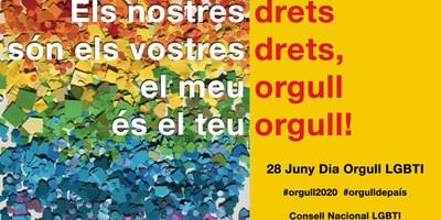 Suport de l'Ajuntament d'Olèrdola al manifest del Consell Nacional LGBTI