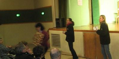 Teatre solidari a benefici de La Marató de TV3 a Sant Pere Molanta