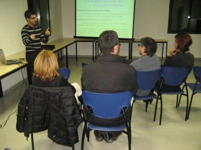 La xerrada s'ha fet al Centre Cívic La Xarxa