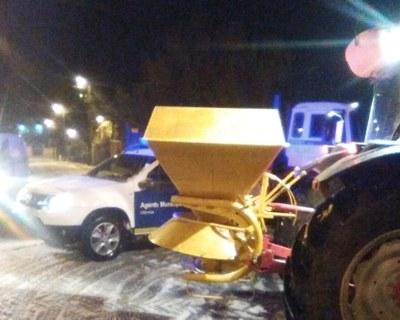 Neu a Daltmar aquesta passada nit