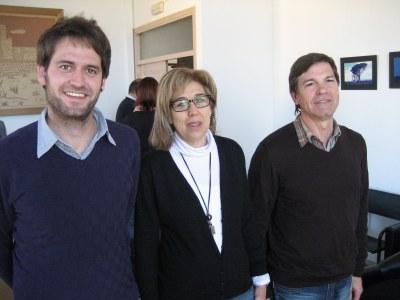 Lucas Ramírez, Fina Mascaró i Josep Sánchez