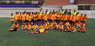 Imatge dels participants en el Campus(Foto: Base Olèrdola)