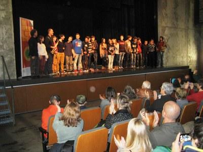 Un concert variat de l'Escola Municipal de Música de Vilafranca clou les Festes de Sant Macari