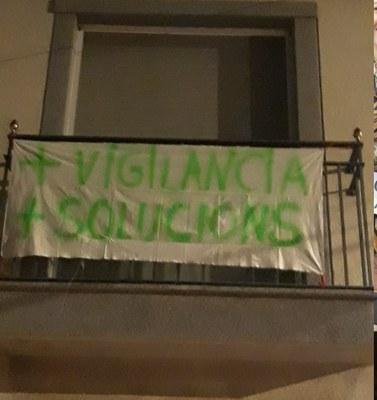 Un grup de veïns de Sant Pere Molanta inicia una campanya per a reclamar més seguretat