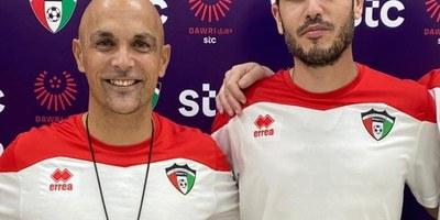 Un veí de Sant Miquel, Andrés Carrasco, és l'entrenador de la selecció absoluta de futbol de Kuwait