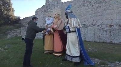 Un vídeo recull el missatge dels Reis Mags als nens i nenes d'Olèrdola