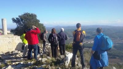 Una atractiva sortida al Puig de l'Àliga ha tancat les Rutes pel Patrimoni d'aquest 2017