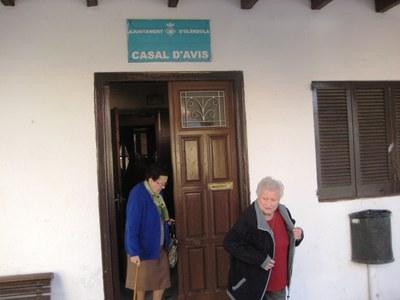 Una excursió a Montserrat inicia el calendari de sortides del Casal d'Avis de Moja aquest 2015