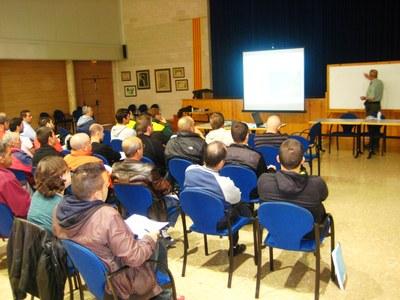 Les sessions s'imparteixen al local social Rossend Montané