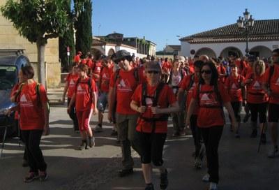 Una seixantena d'inscrits en la caminada popular nocturna de Moja a Montserrat
