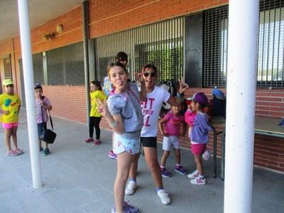 Una setantena d'infants comencen el Casal d'Estiu d'Olèrdola