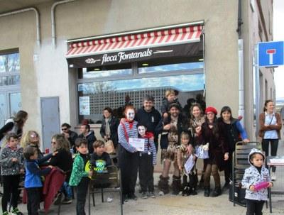 Una setantena de participants protagonitzen la 1a Mini Rua i concurs de disfresses infantils de Sant Pere Molanta