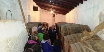 Una visita organitzada per l'Ajuntament ha difós joies patrimonials de Sant Pere Molanta