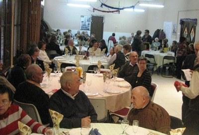 Una vuitantena de socis es reuniran aquest diumenge en el dinar de Nadal del Casal d'Avis de Moja
