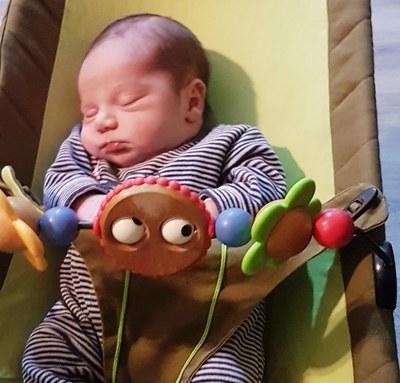 El petit Unai va pesar en néixer 4kg i 200 grams