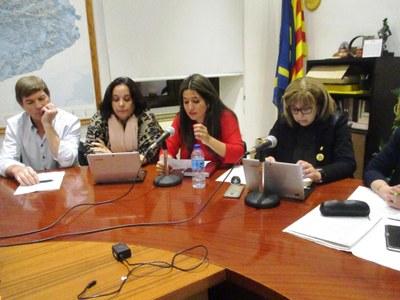 Vanesa López referma el seu compromís amb el municipi en el seu comiat com a regidora