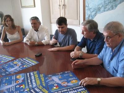Presentació de la Copa, dilluns 6 d'agost