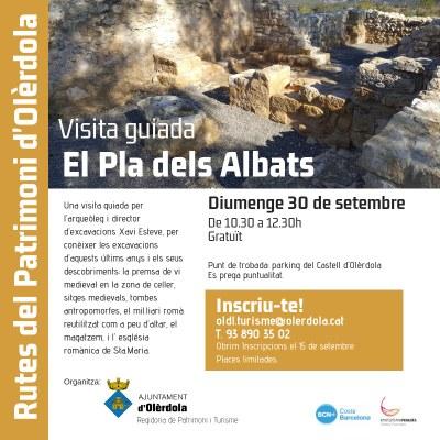 Visita guiada gratuïta aquest diumenge al Pla dels Albats