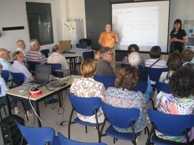 El passat mes de juny, el Casal d'Avis de Sant Pere acollia una xerrada sobre economia domèstica