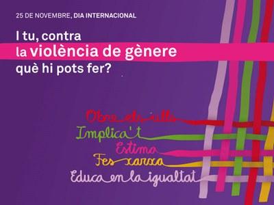 Xerrada a Olèrdola contra la violència masclista el dimecres 21 de novembre