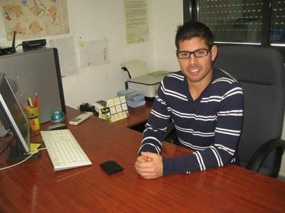 Àlex Muñoz, tècnic del Servei Local d'Ocupació