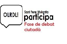 Els veïns i veïnes de Sant Pere Molanta ja poden participar en el procés per a escollir un nom per a la nova plaça del carrer Llevant de Sant Pere Molanta