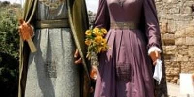 Colla de grallers i gegants de Sant Pere de Molanta