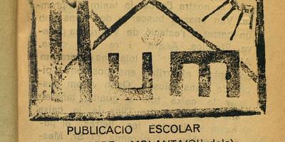 La revista escolar de l'escola de Sant Pere Molanta del mestre Josep Santaulària Ortiz