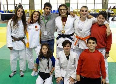 Judoques del Judo Olèrdola