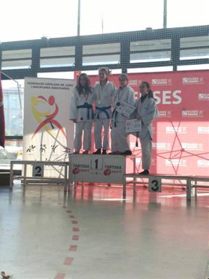 Aira Lázaro, del Judo Olèrdola, guanya l'or a la Super Copa d'Espanya Infantil i es classifica pel campionat estatal