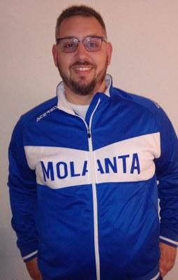 Óscar Martínez segón entrenador del Molanta