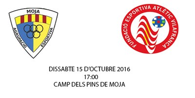 Aquest dissabte tindrem derbi penedesenc al camp dels Pins de Moja, l'equip d'Alejandro Carretero rep la Fundació Atl Vilafranca