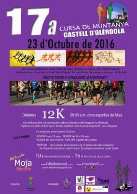Aquest diumenge té lloc la 17a cursa de muntanya Castell d'Olèrdola