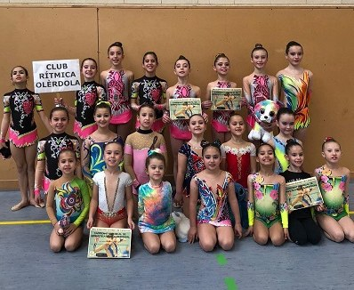 Gimnastes del Rítmica Olèrdola