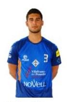 Marc Vázquez, jugador del Patí Vilafranca