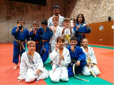 El Judo Olèrdola obtè 11 medalles en la 2a Copa Catalunya benjamí i aleví