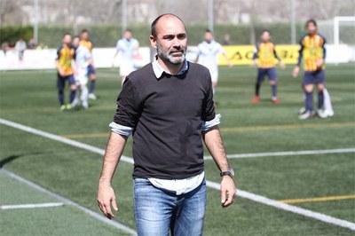 Iván Moreno, tècnic del FC Vilafranca