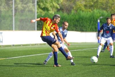 Josu Rodriguez jugador del Vilafranca