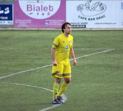 Ricard Vallès jugador del Moja