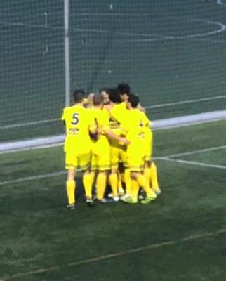 Un dels gols del Moja davant del San Mauro
