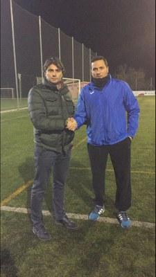 Manel Ortiz amb Jordi Olivella