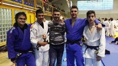 Integrants del Judo Olèrdola a Andorra