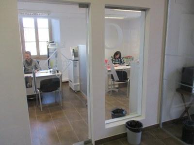 La reforma de la planta baixa de l'Ajuntament millora l'Oficina d'Atenció Ciutadana