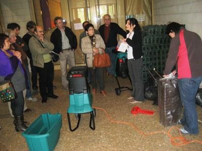 L'Ajuntament d'Olèrdola cedirà 28 compostadors domèstics per a poder reciclar a casa la brossa orgànica