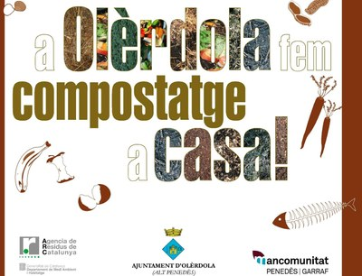 L'Ajuntament d'Olèrdola obre convocatòria per a cedir 22 compostadors domèstics