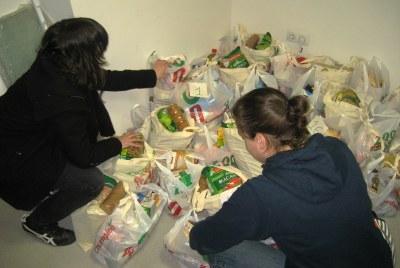 La recollida solidària d'aliments a Olèrdola es tanca garantint productes per a 18 famílies del municipi